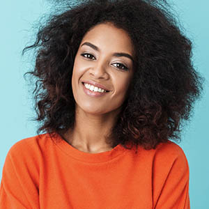 woman smiling, dental implants services, dental implants pasadena tx