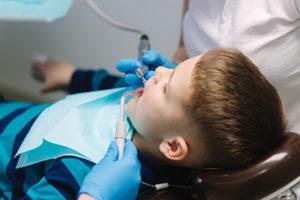 child with houston sedation dentist